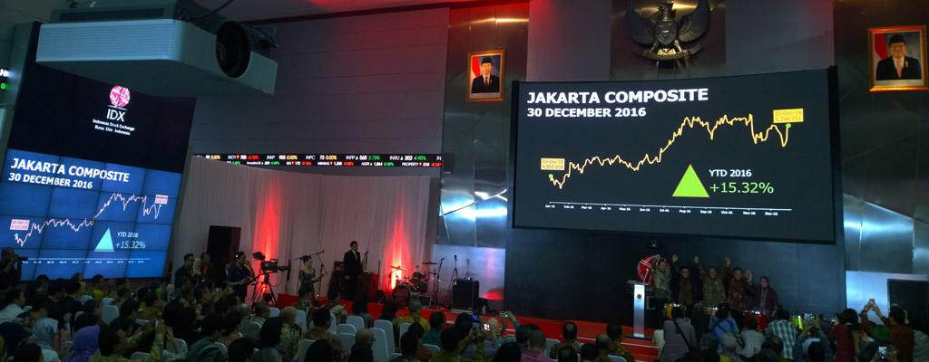 Saham di Indonesia Positif, Saham Pertambangan Juaranya